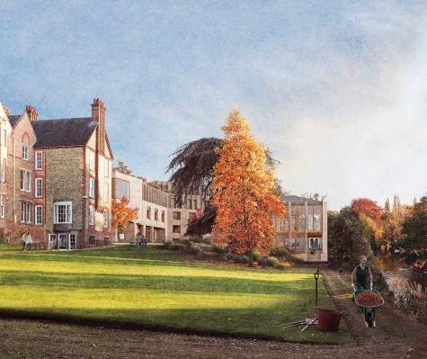 Concept design: North lawn