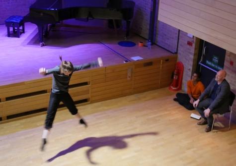 Kim Brandstrup at Jacqueline du Pre Music Building