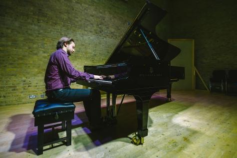Steinway D concert grand piano, Jacqueline du Pre Building