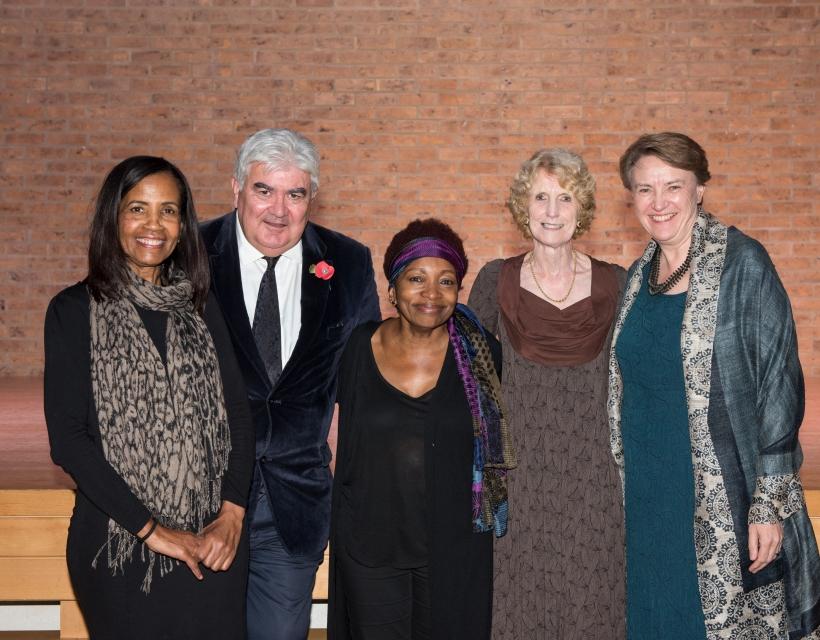 Jude Thompson, Professor Sir Gordon Duff, Bonnie Greer, Lady Judith English, Dr Georgina Paul