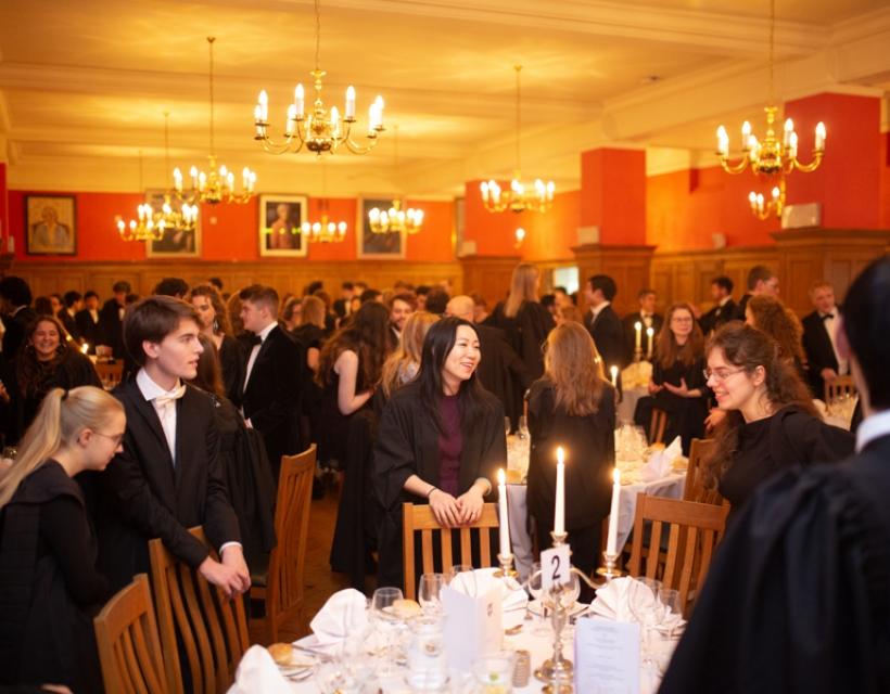 Dining Hall, St Hilda's College