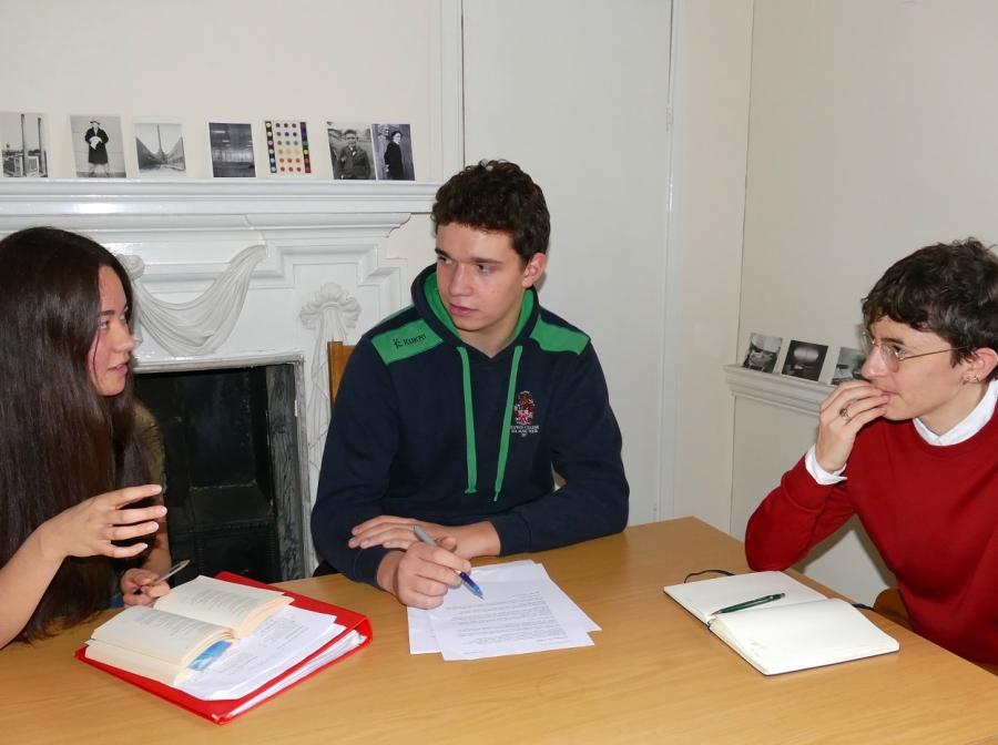 Tutorial at St Hilda's College, Oxford