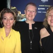 Nicole Taylor, Philippa Lowthorpe and Anna Hall