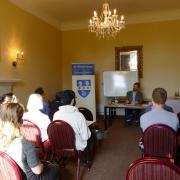 Dr Adam Caulton, invited guest at St Hilda's College Philosophy Symposium