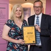 Dr Rachel Condry wins O2RB 'Impact Champion Award'