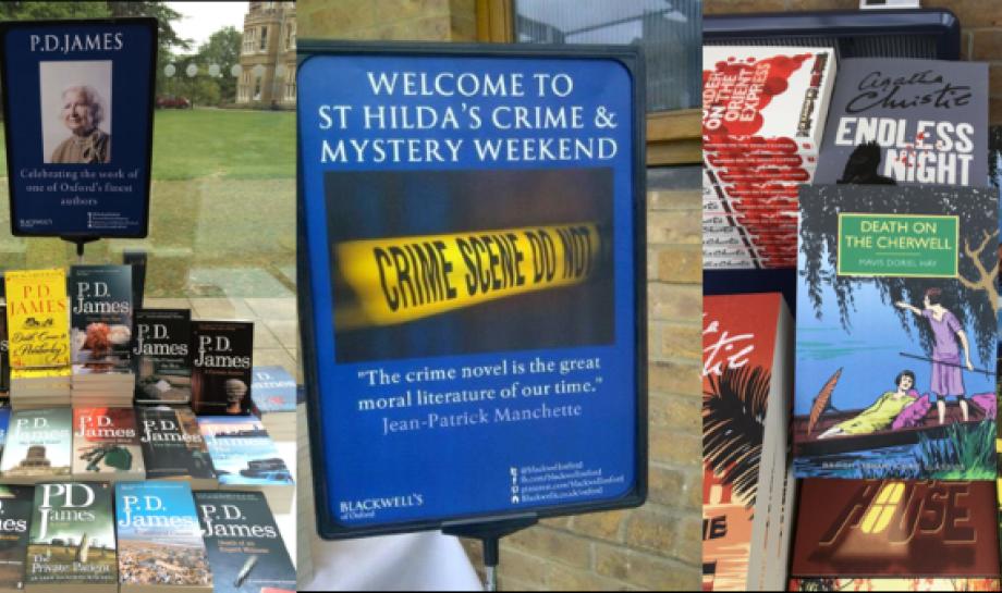 Crime Fiction Weekend 2020, St Hilda's College