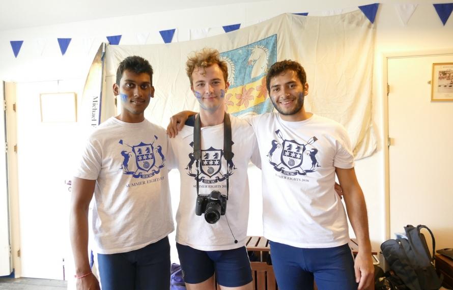 St Hilda's Boat Club at Summer Eights 2016