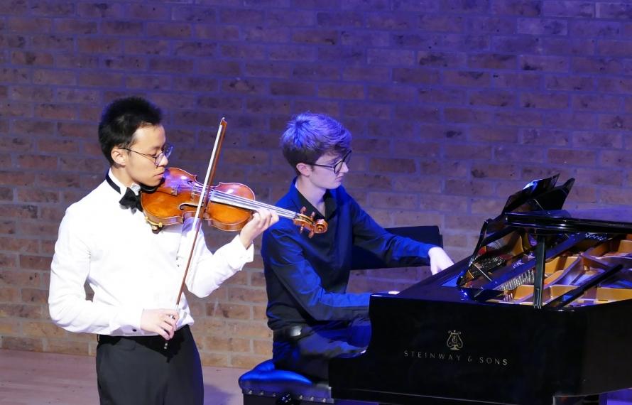 St Hilda's students perform at the Jacqueline du Pre Music Building