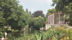 St Hilda's College - Along Bank