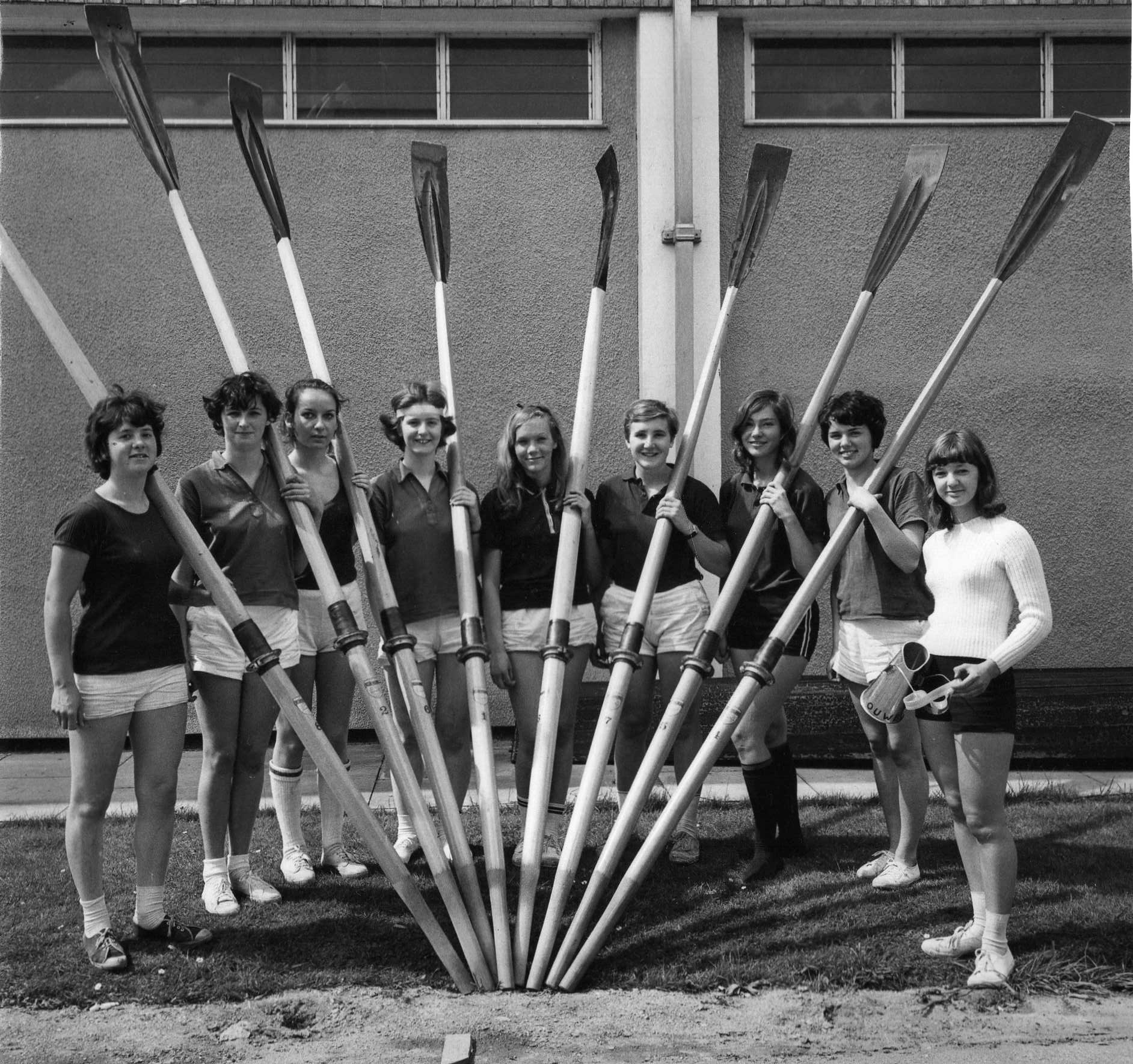 St Hilda's boat crew of 1969 was the first women's boat crew to qualify for Summer Eights