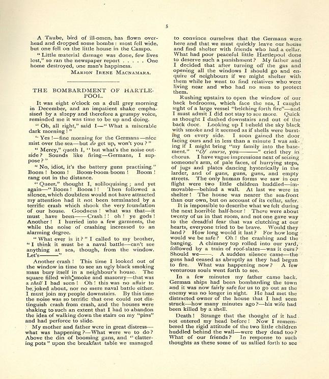Cherwell Hall Magazine, Vol 3, 1915