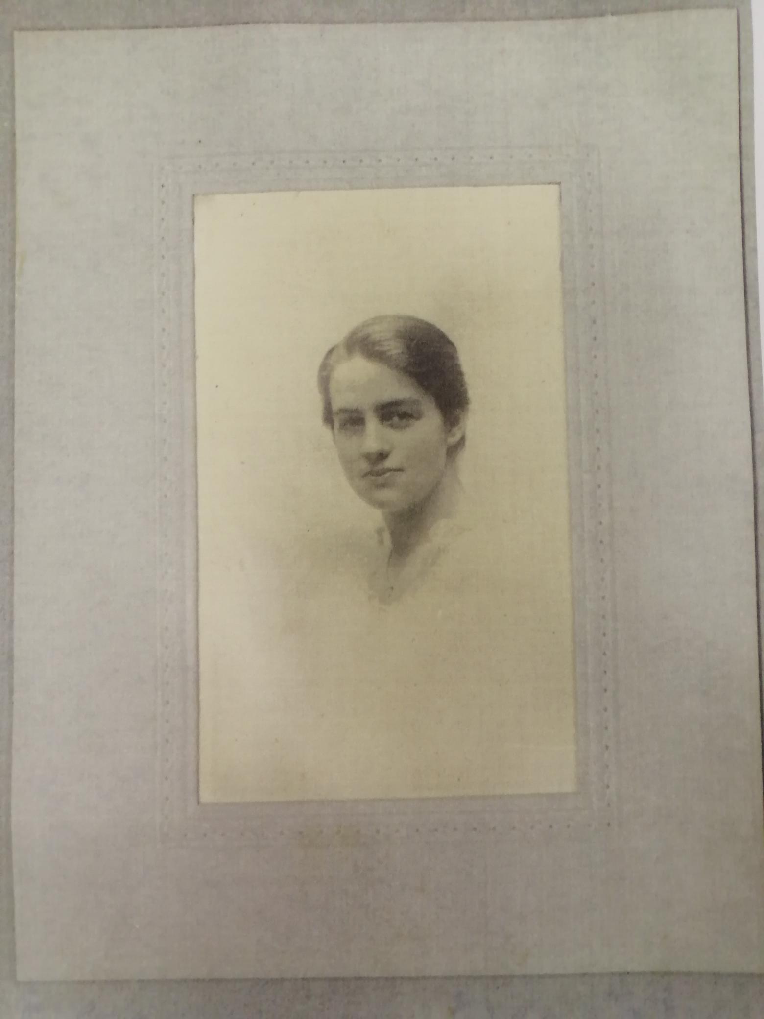 Portrait of Margot Collinson