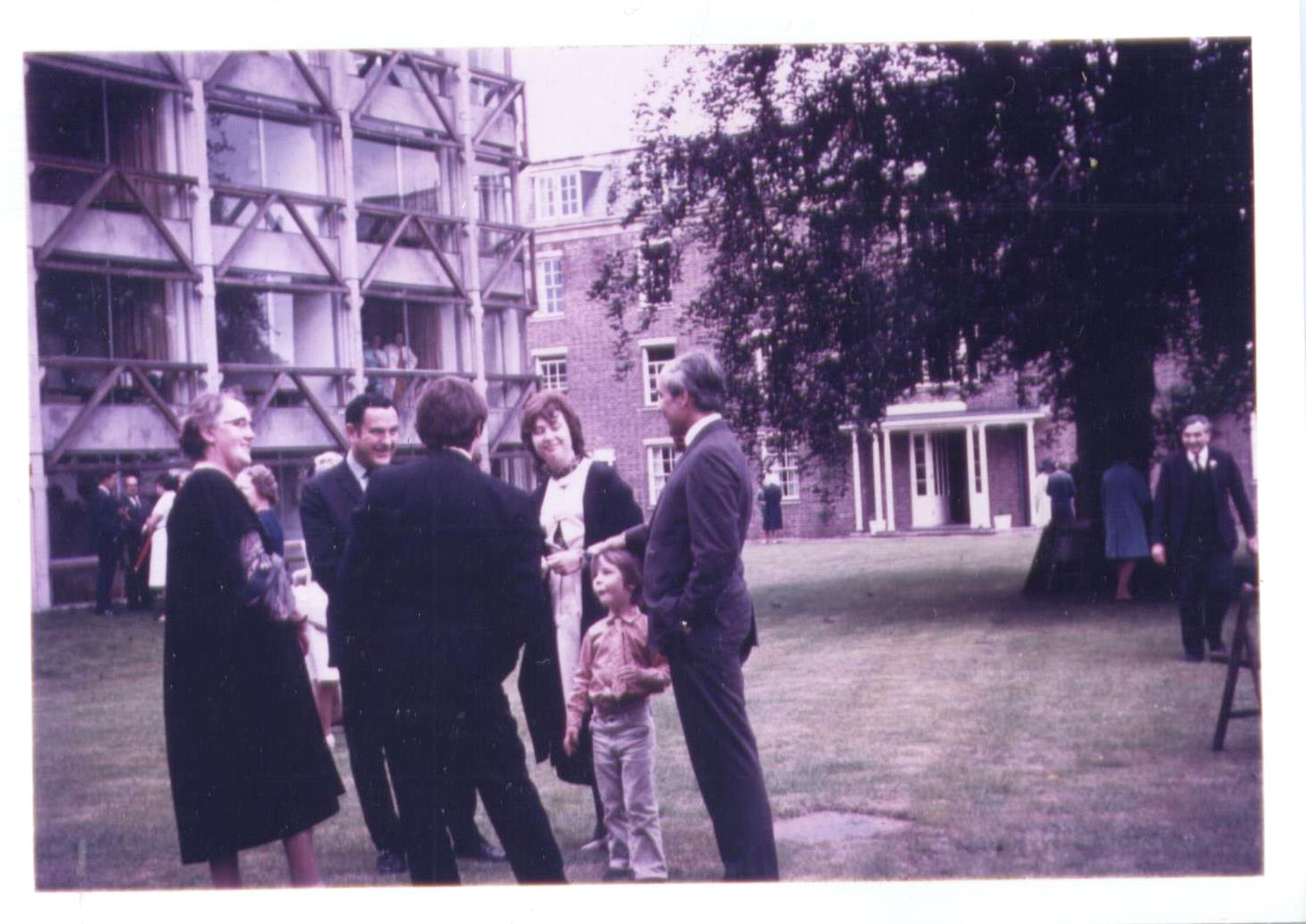Opening of Garden Building at St Hilda's College in 1971