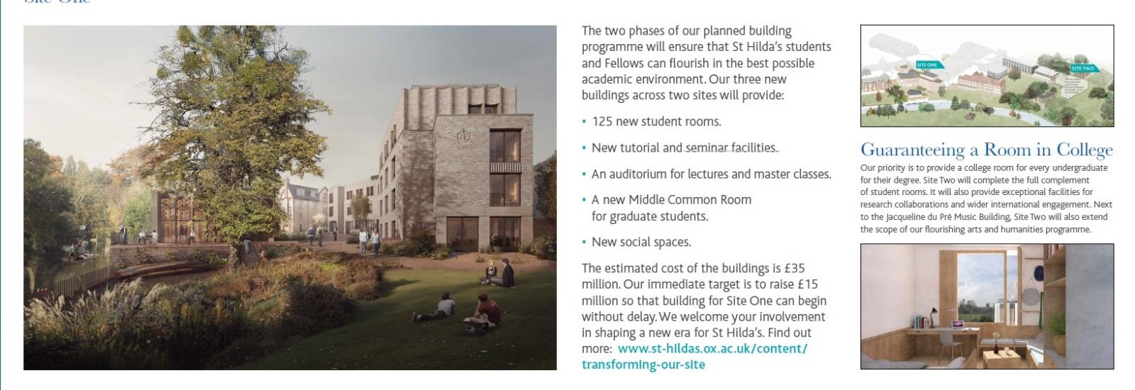 Building the Future: St Hilda's 125th Anniversary Campaign