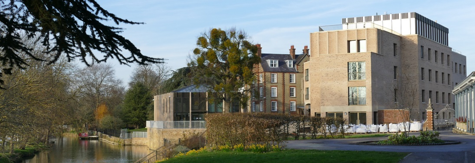 Anniversary Building and Pavilion at St Hilda's College