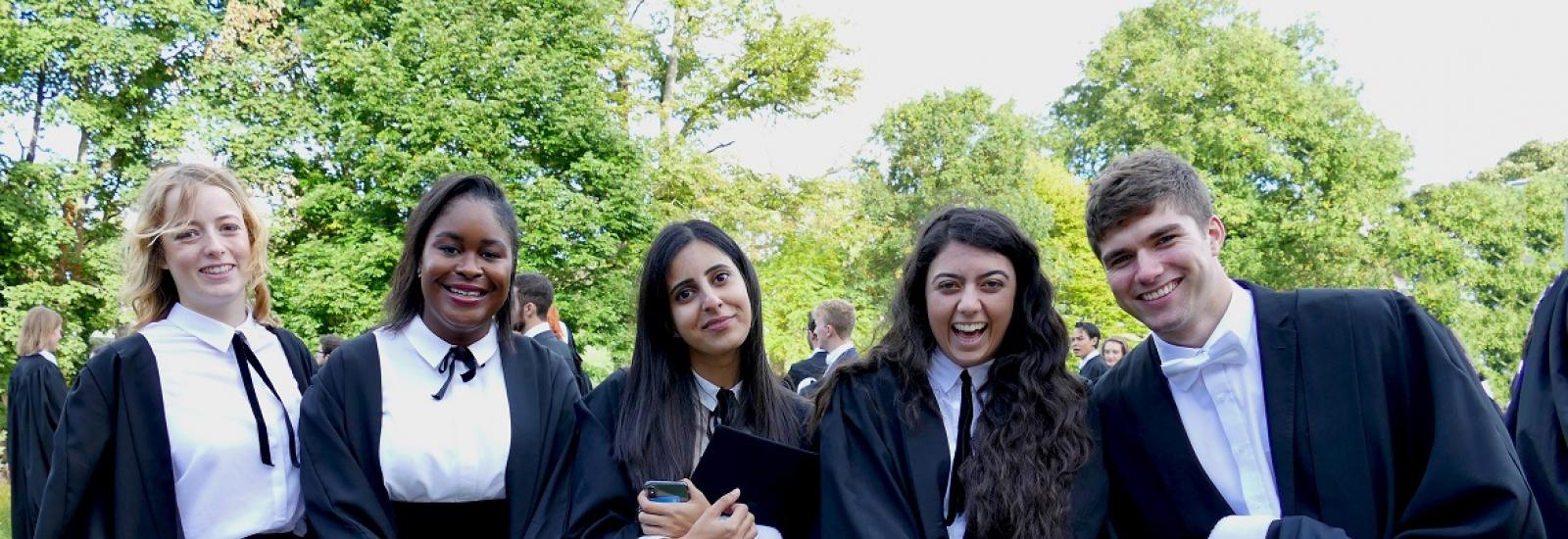 Graduation Day at St Hilda's College 28 September 2018