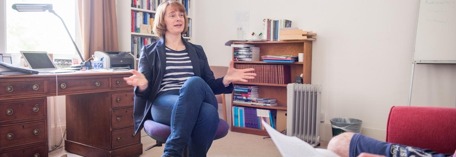 Tutorial with Dr Kerstin Hoge