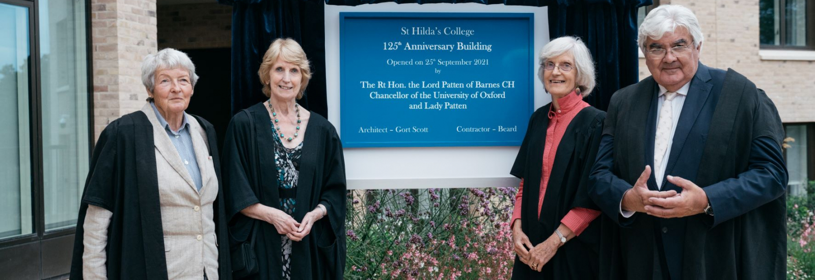 St Hilda's Pavilion and Anniversary Building are officially opened on 26 September 2021