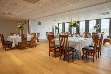 Dinners in the rooftop suite at St Hilda's College