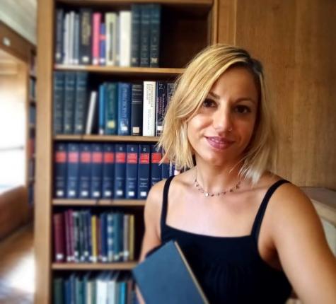 Chiara Campioni, Reader Services Assistant, St Hilda's College