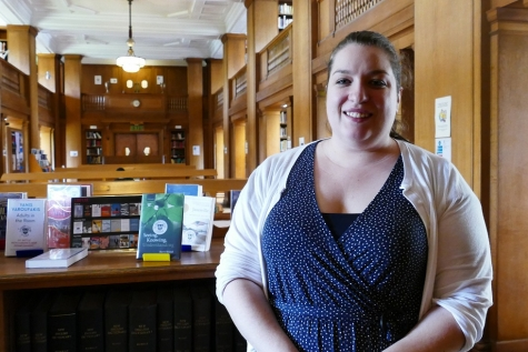 Dr Jill Dye, Librarian, St Hilda's College, University of Oxford