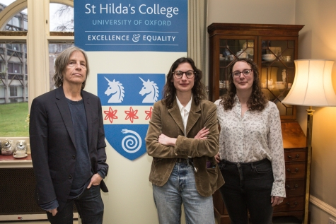 Eileen Myles hosts St Hilda's Feminist Salon, 9 March 2018