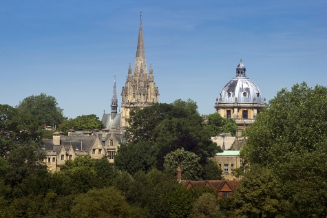 Oxford Skyline: view from St Hilda's College