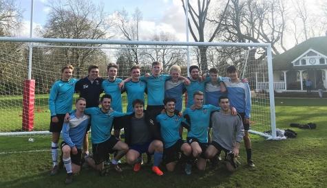 St Hilda's Men's Football Team wins the 2020 Cuppers quarter finals vs Worcester