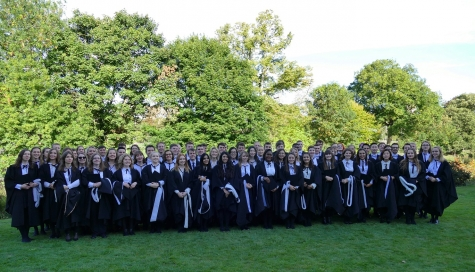 Graduation Day at St Hilda's College, September 2018