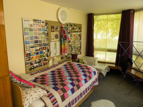 First-year student room in Garden Building