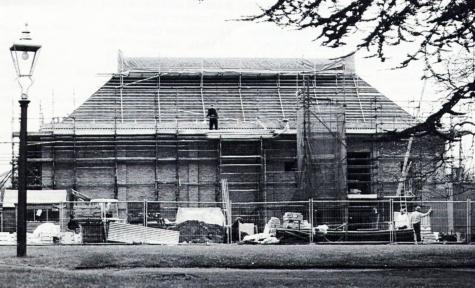 JdP under construction 1995