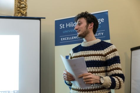 Middle Common Research Forum - St Hilda's College