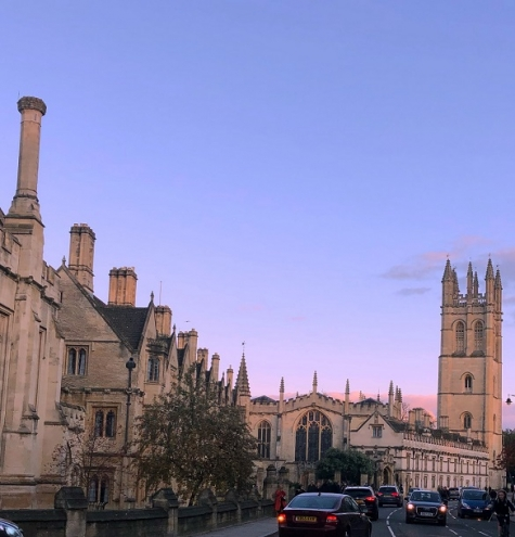 Magdalen College seen from Oxford High Street