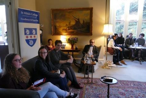 St Hilda's Feminist Salon: Fatemeh Shams in conversation with Zuzanna Olszewska