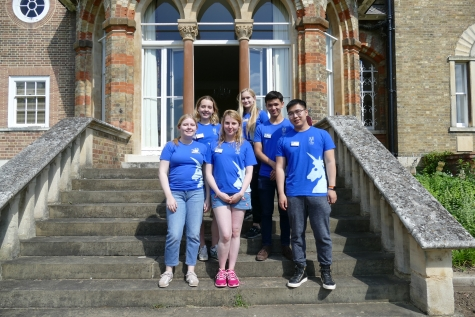 Student Guides at St Hilda's Open Days