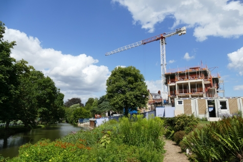 New Boundary Building at St Hilda's College, University of Oxford