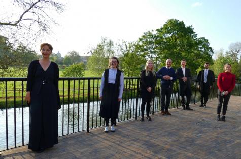 Chaplain, Mereym Kalayci, and St Hilda's Choir