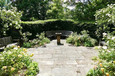 St Hilda's College rose garden
