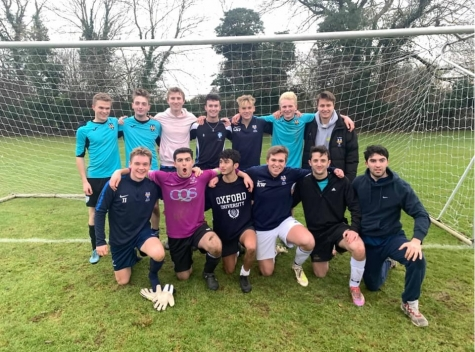 St Hilda's Mens' Football Team Cuppers 2019/20