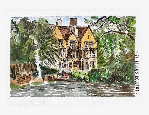 St Hilda's College by Millie Drew