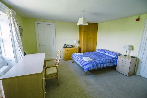 Double guest room, Hall Building, St Hilda's College