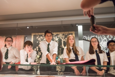 School visit to Ashmolean with St Hilda's College