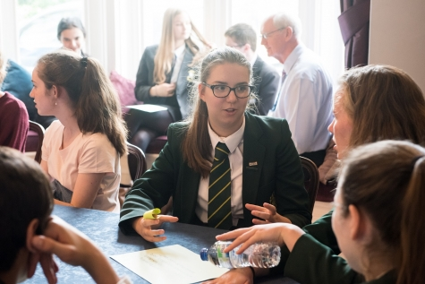 School visit to St Hilda's College