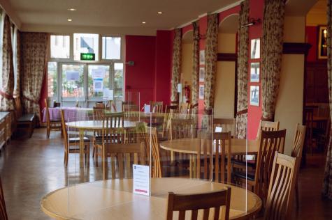 St Hilda's Dining Hall, Michaelmas Term 2020