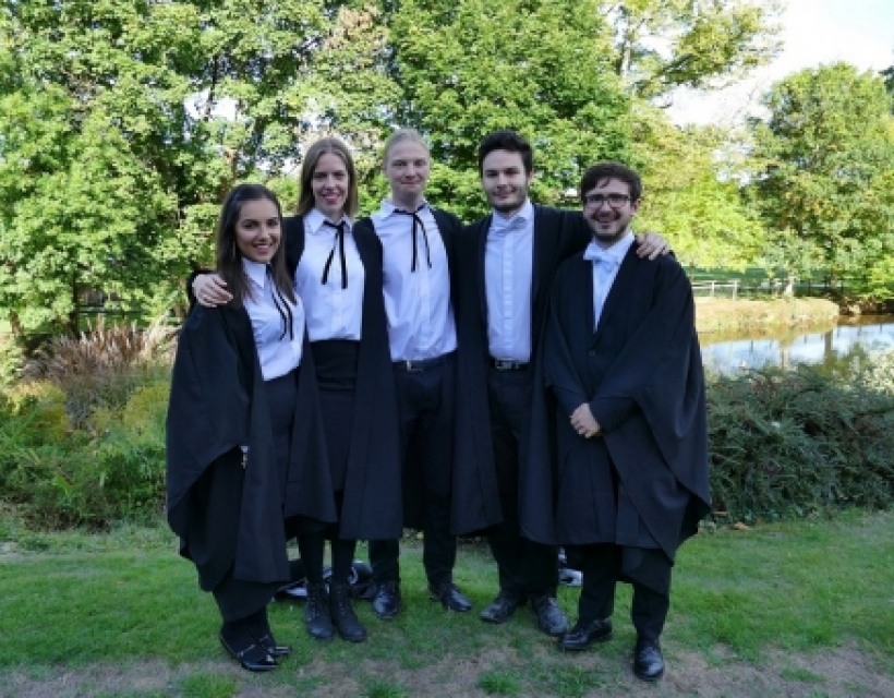 Degree Day at St Hilda's College, September 2018
