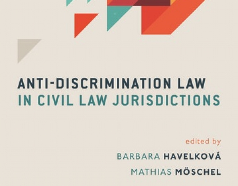Anti-Discrimination Law in Civil Law Jurisdictions by Law Fellow, Dr Barbara Havelkova