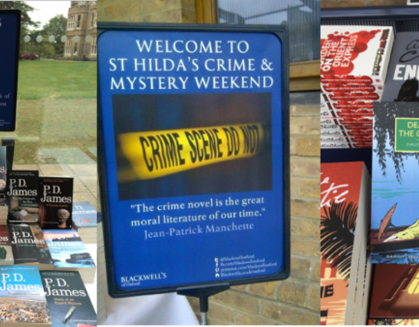Crime Fiction Weekend at St Hilda's College 2020