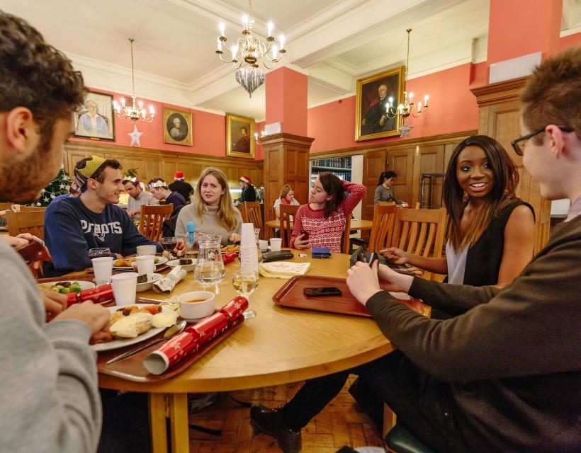 Food at Drink at St Hilda's College