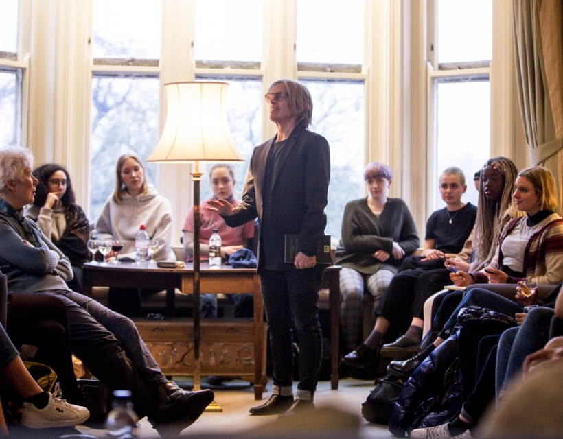 Eileen Myles hosts the St Hilda's Feminist Salon
