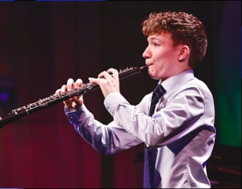 Ewan Millar has won the Woodwind Category in BBC Music's Young Musician 2020